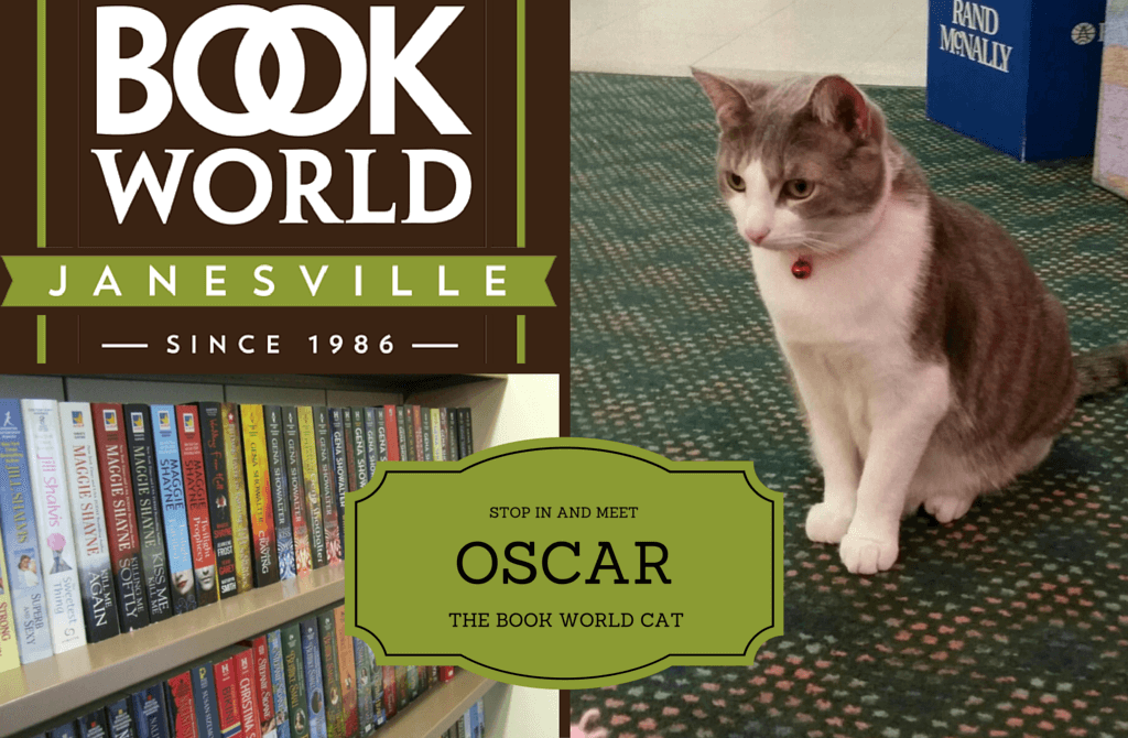 Meet Oscar, the Book World cat